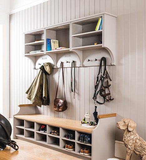 Dove Grey Boot Room