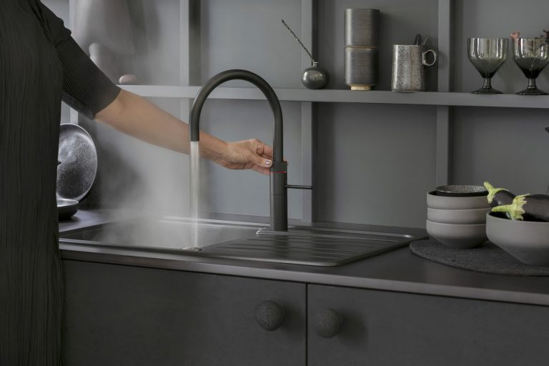 New! Quooker Fusion in Black & Gold