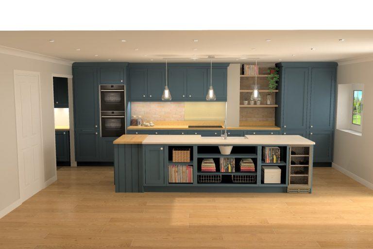 Photo-Quality Kitchen Plans