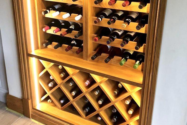 Handmade Bespoke Wine Rack